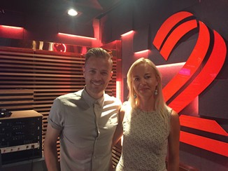 2FM Fiona is interviewed by Nicky Byrne